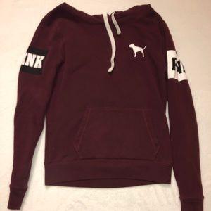 Maroon Pink hoodie